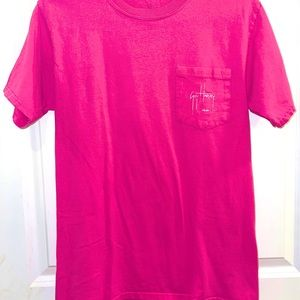 👚 GUY HARVEY Pink Shirt 👚 Size Small Limited Ed.